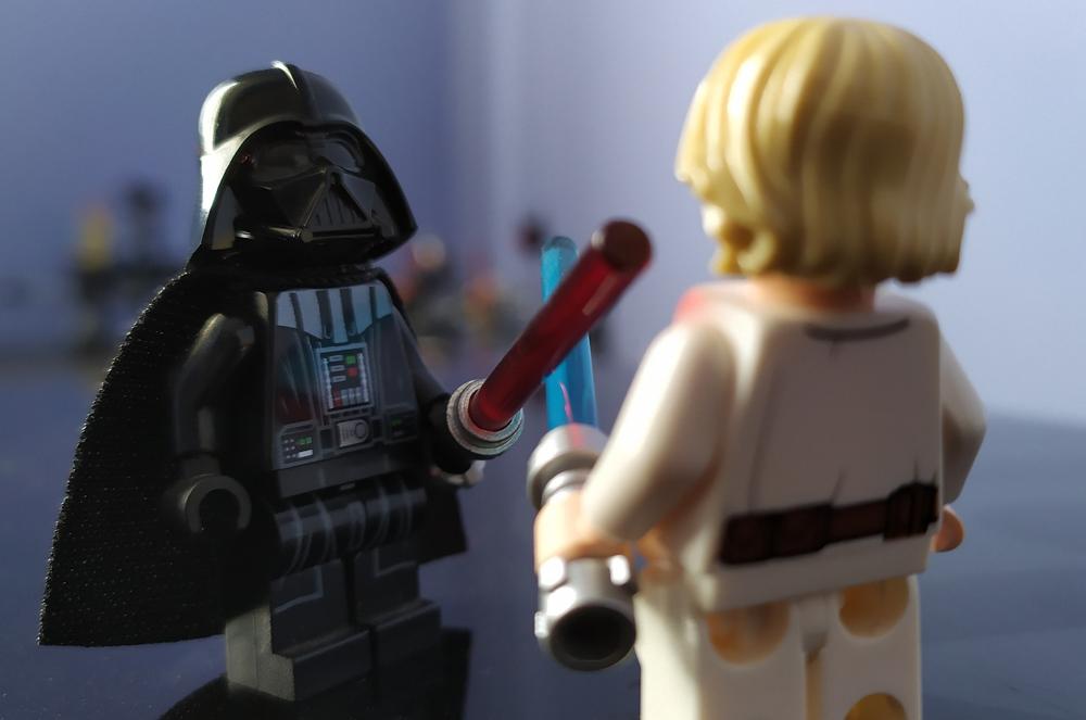 Luke e Vader